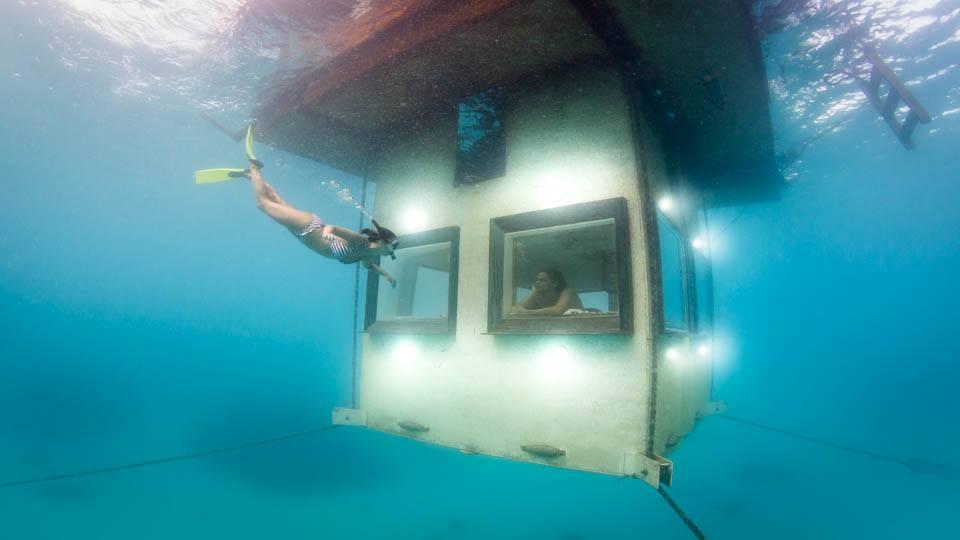 Underwater Hotels Rooms